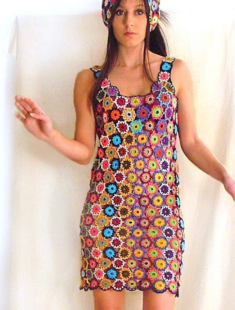 Modelos de Vestidos Tejidos a Mano