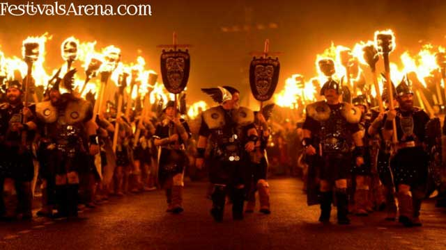 Up Helly Aa Scotland's Viking Fire Festival 1- FestivalsArena.com