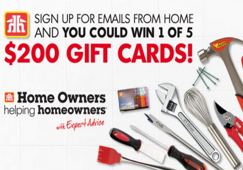 Home Hardware $200 Gift Card Giveaway