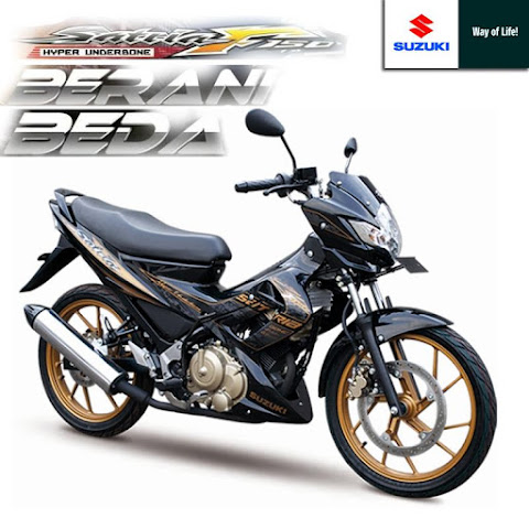 Review Test Ride Suzuki Satria F150 Gold Edition 2012