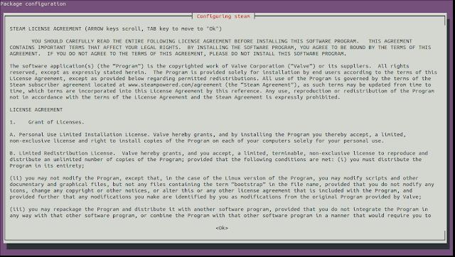 Perintah Install Steam di Linux Ubuntu 16.04