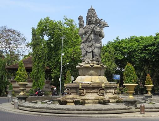 Catur Muka Statue Denpasar Bali