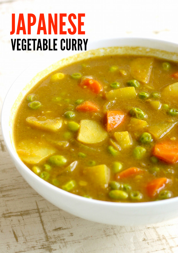 Japanese Vegetable Curry Season With Spice