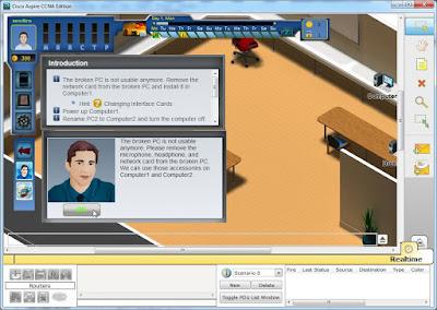 Aspire-CCNA: Game Simulator Menjadi seorang Teknisi Jaringan