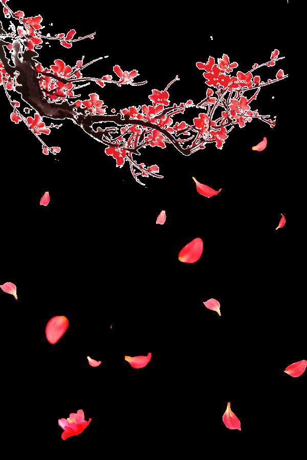 render flor de cerezo