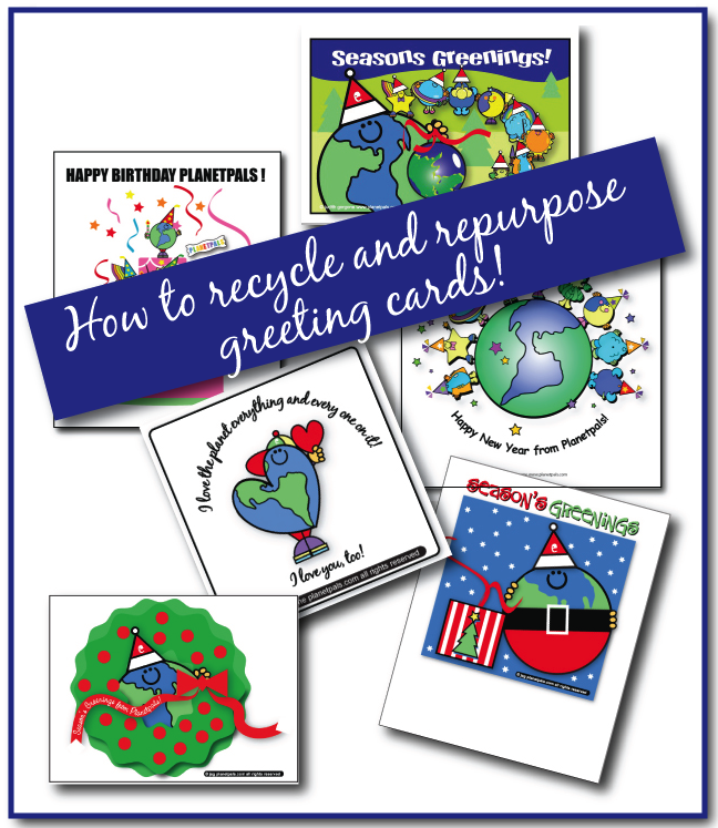 Get Crafty With Greeting Cards Repurpose and Recycle!