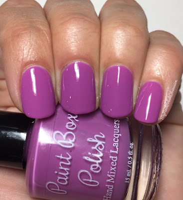Paint Box Polish, Ciao, Gelato! collection, Spring 2016; Frutti di Bosco
