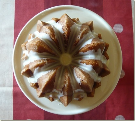 orange and ginger Bundt cake