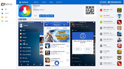 Tải Appvn 5.0 miễn phí về máy điện thoại Android 5