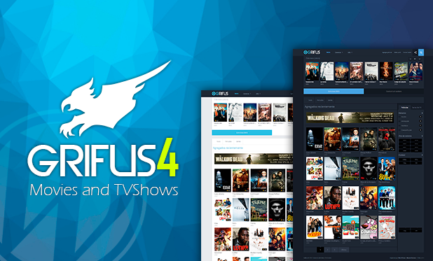 Grifus v4.0.2 - WordPress theme movies