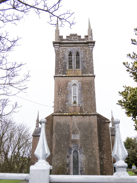 Church in Ardmore, County Waterford spotted on an Irish road trip between Dublin and Kinsale