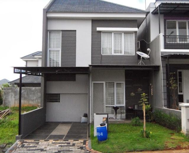 renovasi rumah mungil 2 lantai