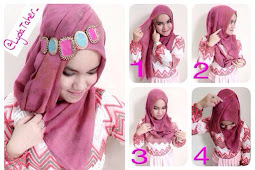 Tutorial Jilbab Pesta