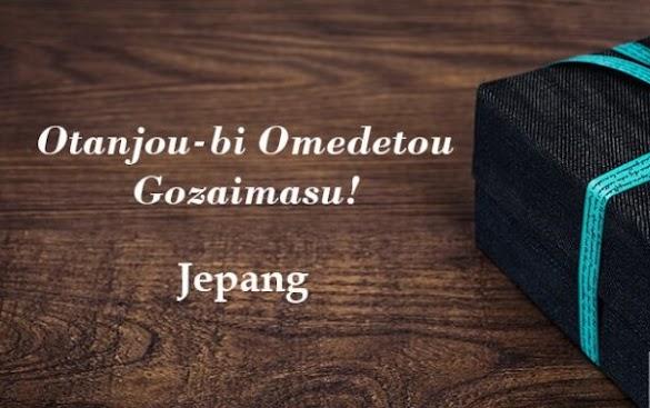 Kumpulan Ucapan Selamat Ulang Tahun dari Berbagai Macam Bahasa Dengan Tradisi Perayaannya