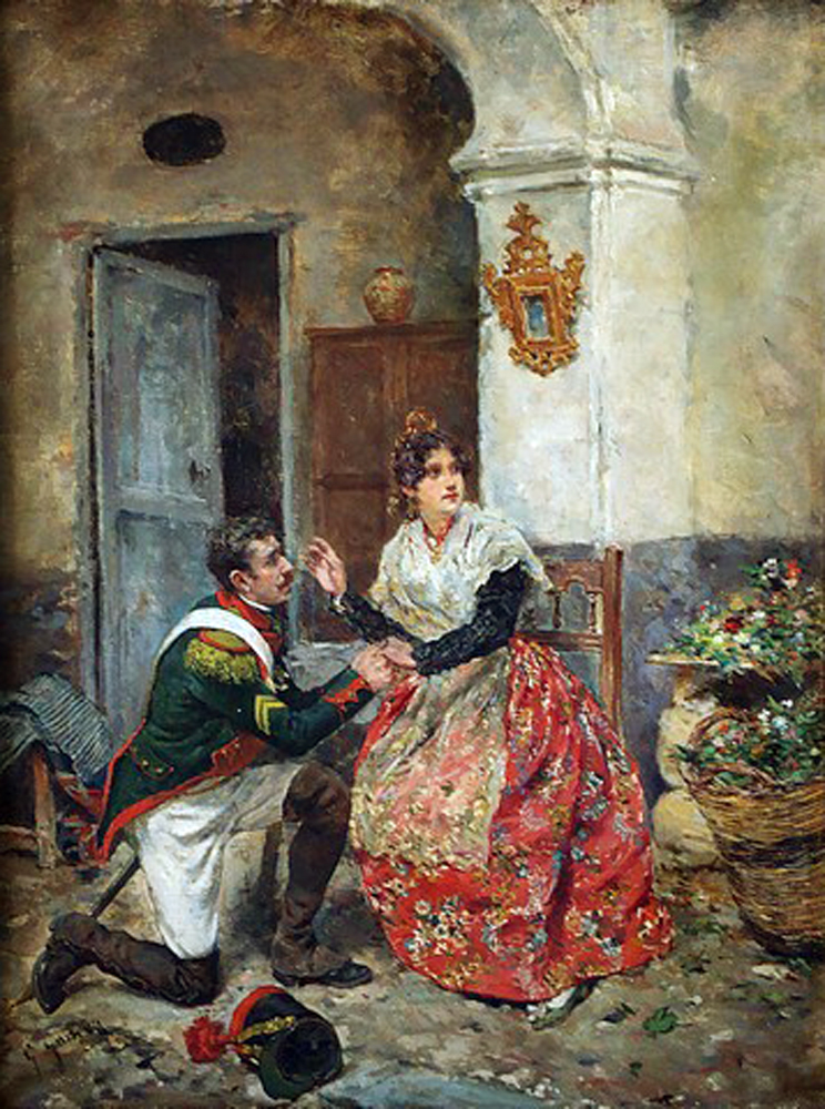 Valencianas pintadas - Pintor valenciano ...