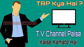 TRP Kya Hai ? TV Channel Paise Kaise Kamate Hai