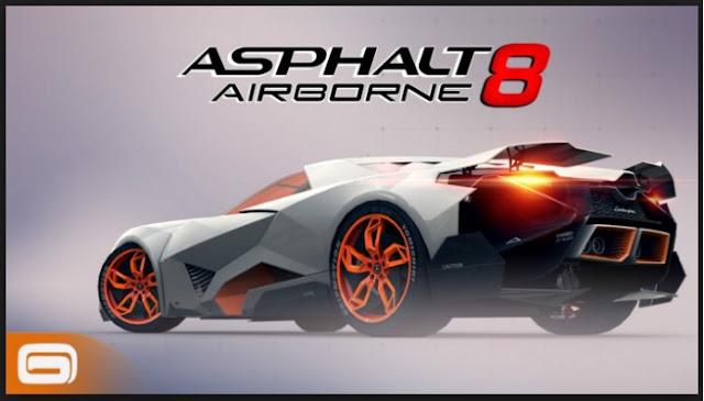 اخر التطويرات  في لعبة ASPHALT AIRBORNE 8