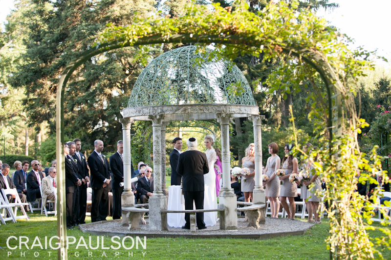 Guests Were Able To Enjoy The Entire Estate As They Proceeded From Ceremony Outdoor Terrace Of Castle For Tails And Hors D Oeuvres