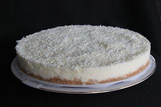 Ciasto z białej czekolady (bez pieczenia)