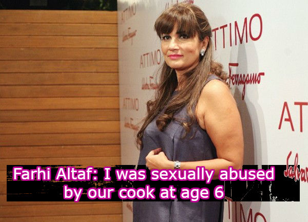 Fariha Altaf sexually abused by cook