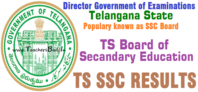 TS SSC Results,10th Class,Results