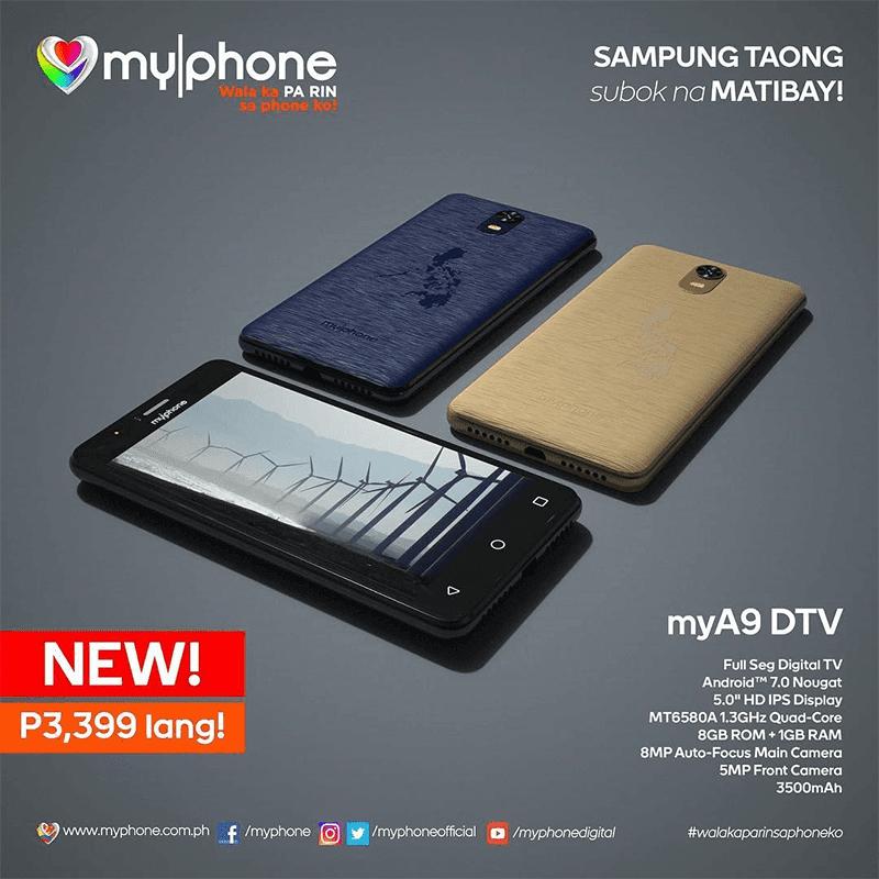 MyPhone  MyA9 DTV