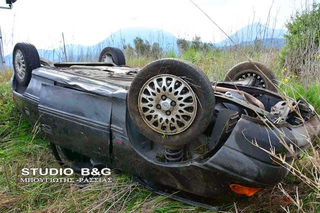 Τροχαίο ατύχημα στην εθνική Κορίνθου Τριπόλεως στο ύψος της Νεμέας