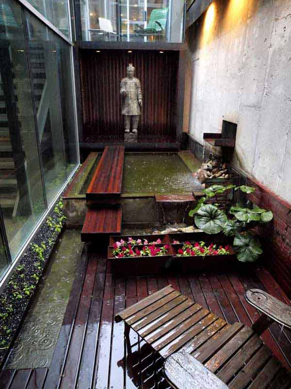 18 Clever Design Ideas for Narrow and Long Outdoor Spaces ... on Long Narrow Backyard Design Ideas id=17319