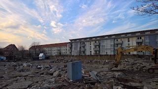 Baustelle in Erfurt-Daberstedt