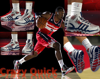 NBA 2K13 Adidas Crazy Quick John Wall Shoes Patch