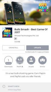 Bulb Smash Game Penghasil Uang Di Android