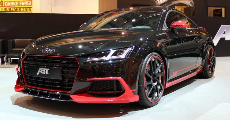 new audi tt earns its first abt tuning stripes. Black Bedroom Furniture Sets. Home Design Ideas