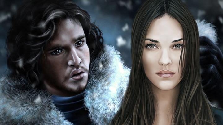 Jon Snow y Lyanna Stark