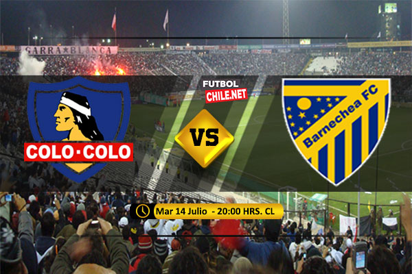 Mira Colo Colo vs Barnechea en vivo y online por los Octavos de Final Ida de la Copa Chile