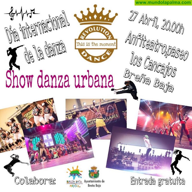 """BREÑA BAJA: """"Show Danza Urbana"""" por el """"Día Internacional de la Danza"""""""