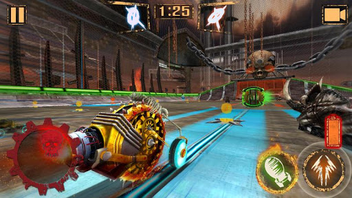Download free game android Rocket Car Ball mod apk