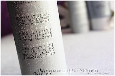 bagno mousse addolcente , Creattiva Professional - Linea Unibalance