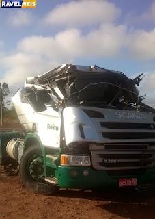 Motorista e uma ocupante morrem no acidente com o caminhão tanque em Anapurus