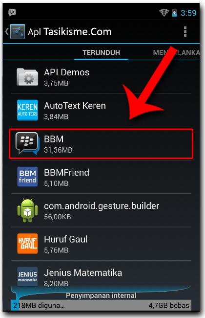 Cara Rubah PIN BBM Android