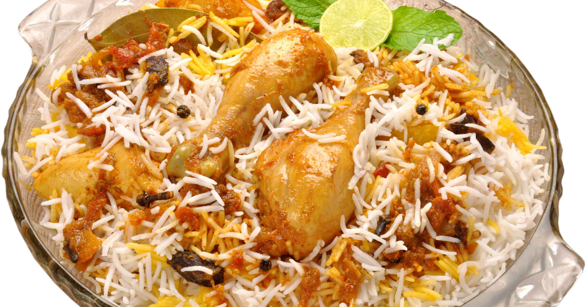 Chicken Biryani Plate Hd Images Png Free Download Transparent