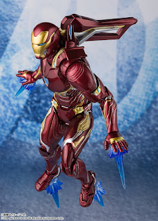 Figuras: Imágenes y detalles de los nuevos S.H.Figuarts Iron Man Mark 50 de Avengers: Endgame - Tamashii Nations