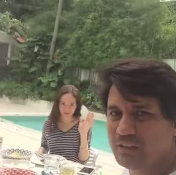 Richard Gomez Suddenly Did This To His Daughter and Wife While Eating And This Is The Reaction Of Juliana! Watch This!