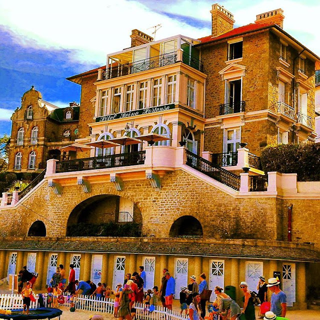 A Very British Resorts, St-Briac and St-Lunaire Beaches in Dinard I Brittany I France , by Travelling Hopper