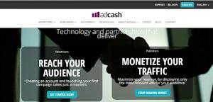 Review AdCash: Memanfaatkan Blog Anda untuk Mendapatkan Dolar !!!