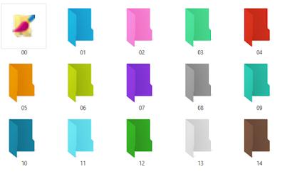 Cambia de color tus carpetas para organizarte mejor