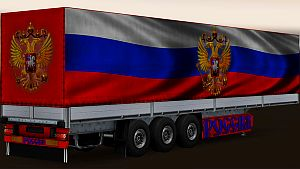 Country Flags trailers skins