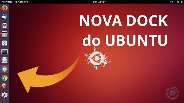 Nova Dock do Ubuntu