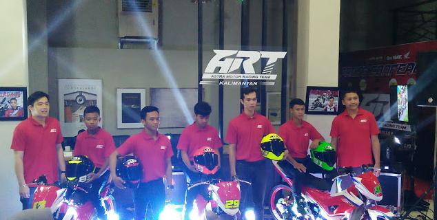Berikut Adalah Para Pembalap Dari Astra Motor Honda Kalbar