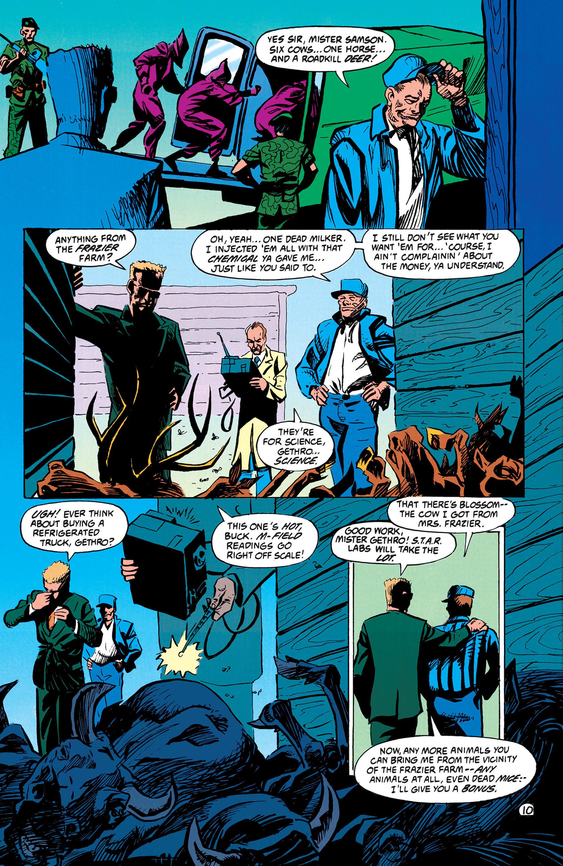 Read online Animal Man (1988) comic -  Issue #42 - 11