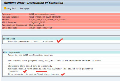 Dynamic FM call with extra parameter